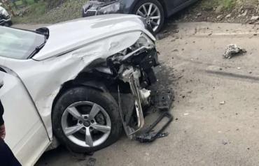 Возле Мукачево ДТП перекрыло почти целую дорогу