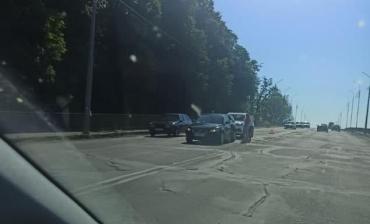В Мукачево авария на мосту вызвала пробки