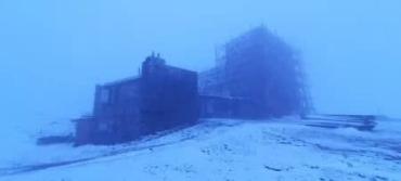 В Закарпатье активно начал выпадать снег
