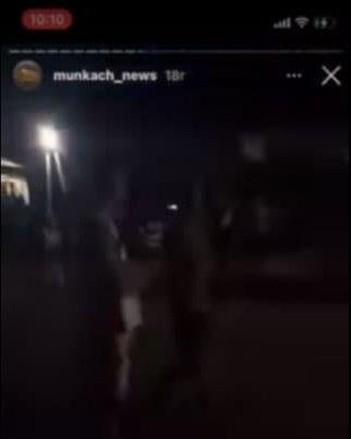 Появился видео-фрагмент с места убийства в Закарпатье, где человека нашли в луже собственной крови