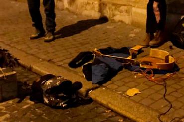 Рейд против уличных музыкантов, поющих на русском языке...