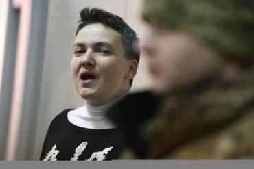 У Савченко из-за голодовки появилась кровавая рвота