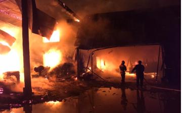 В Закарпатье на месте масштабного пожара найдено тело человека