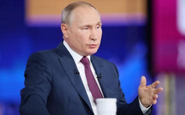 Путін перейшов на українську