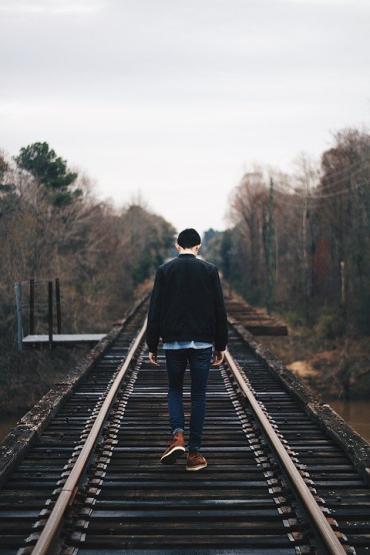 В Закарпатье по железнодорожным путям гулял гражданин России
