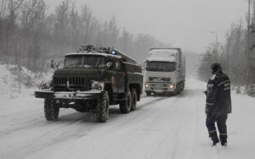 Гидрометцентр сообщает о повышению уровня лавинной опасности на Закарпатье