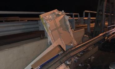 """Венгры перекрыли свою часть моста на КПП """"Тиса"""" в Закарпатье"""