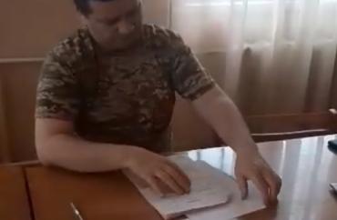 В Закарпатье: на рабочем месте обнаружили нетрезвого военкома