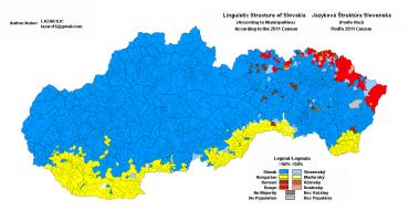 Як в Словаччині ставляться до своїх національних меншин показує перепис населення