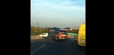 В Закарпатье с самого утра произошла авария
