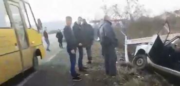 Возле Ужгорода страшное ДТП: Появились жуткие кадры с места происшествия