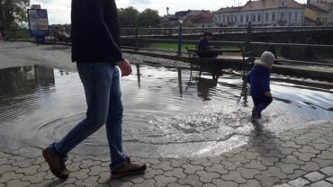 В самом центре Ужгорода внезапно появилось полноценное зеро