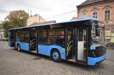 В Ужгороде с сегодняшнего для заработали весь городской транспорт