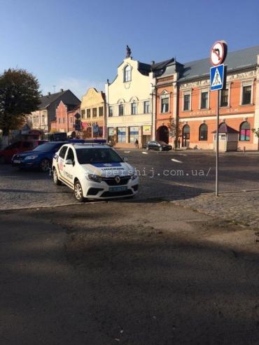 В Закарпатье муниципалы выписали штраф патрульным