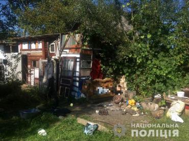В Закарпатье неподалеку от АЗС произошло кровавое убийство