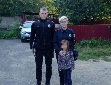 В Ужгороде 6-летняя малышка испугала родителей и полицию