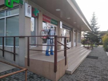 В Закарпатье целый город начали массово дезинфицировать