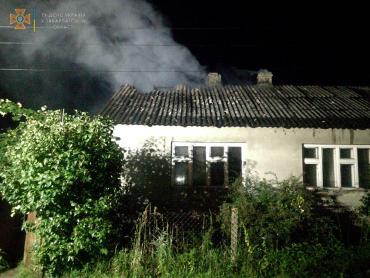В Закарпатье пока семья спала, женщина заметила хаос, разворачивающийся вокруг