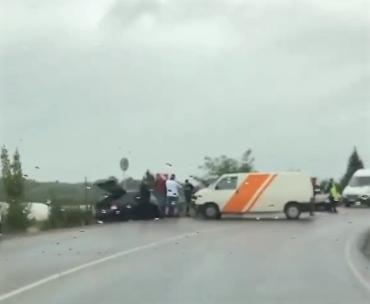В соцсетях выставили видео с места разрушительного ДТП в Закарпатье