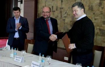 Венгерская община Закарпатья поддерживает Петра Порошенко
