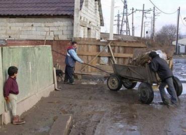 Ужгородскую Радванку оккупировали ромы, - ведь это же их дом