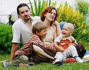 Счастливая закарпатская семья - что еще нужно в жизни?