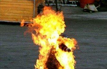 На Закарпатье самосожжение женщины как протест против милиции не удался