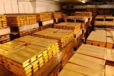 Страна-то осталась совсем без золота, хотя в ювелирных магазинах его полно
