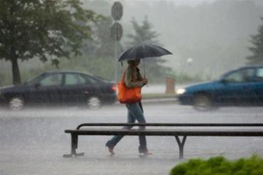 В Закарпатье ожидаются сильные дожди, грозы, ливни, град