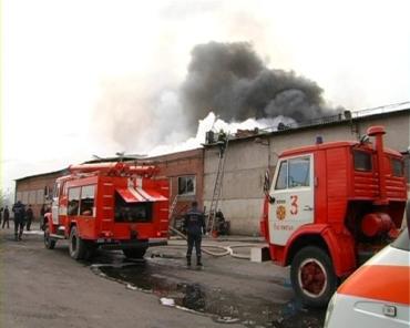 В Воловецком районе сгорел почти весь склад лесничества
