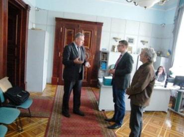 На встрече речь шла о сохранении Боржавской узкоколейки