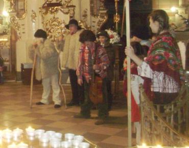 Різдвяний вертеп прийшов в Кафедральний Собор Ужгорода