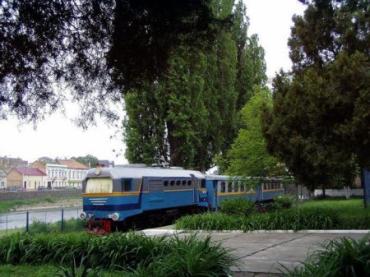 Ужгород. Мала дитяча залізниця.