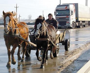 На венгеро-украинской границе очереди шестичасовая очередь грузовых автомобилей