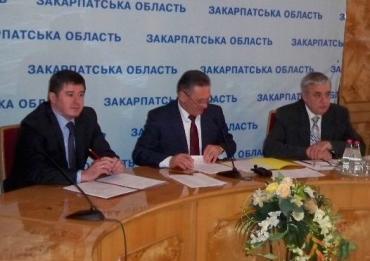 Голова ОДА Олександр Ледида та голова обласної ради Іван Балога провели нараду