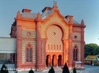 Приміщення колишньої синагоги в Ужгороді