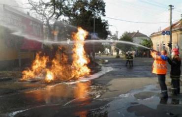 В Ужгороде произошел мощный взрыв газа