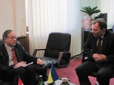 Віктор Погорєлов на зустрічі з представниками Генерального консульства Угорщини