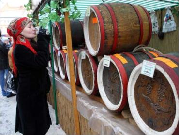 """На фестивалі вина """"Закарпатське божоле"""" в Ужгороді"""