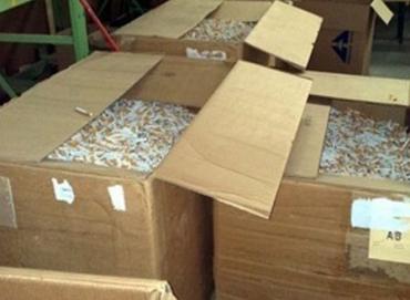 Нелегально ввезенные в Венгрию табачные изделия были обнаружены в грузовике