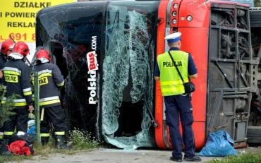 У Польщі в дорожньо-транспортну пригоду потрапив автобус