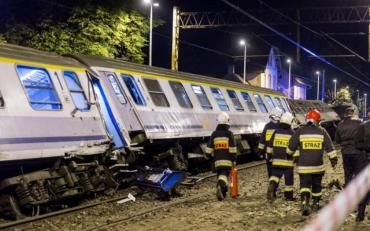 Залізнична катастрофа в Польщі: десятки постраждалих