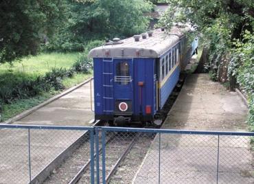 Ужгородська дитяча залізниця виявилася непотрібною ні залізничникам, ні владі