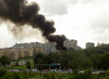Легкомоторный самолет Cesna 172 разбился в воскресенье в Кракове