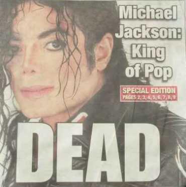 Майкл Джексон умер от передозировки наркотиков
