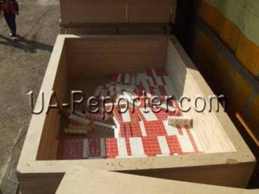 На украинско-румынской границе конфискованы контрабандные сигареты