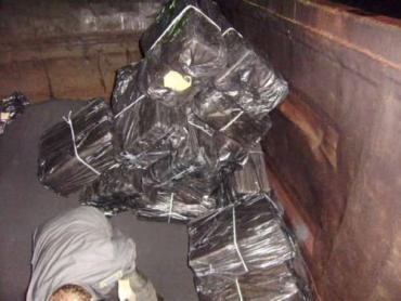 В Чопе накрыли очередную контрабанду сигарет