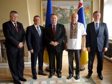 Встреча с Генеральным консулом Чехии в Закарпатской ОГА