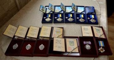 Семь закарпатцев получили государственные награды из рук Москаля