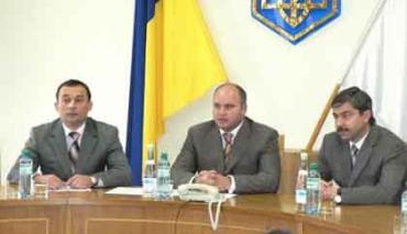 В Ужгороде налоговикам области представлен новый начальник Мирослав Хомяк